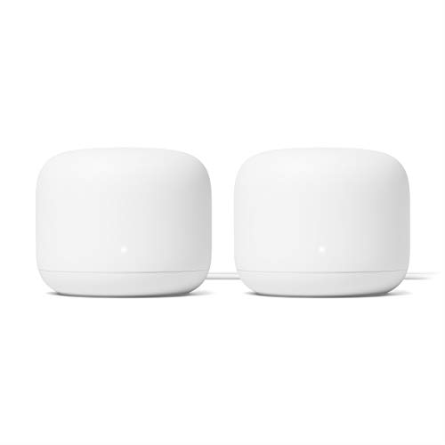 Google Nest Wifi - AC2200 - Mesh WiFi System - Wifi Router -4400 Sq Ft Coverage- 2...