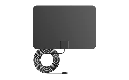 ANTAN Indoor Window HDTV Antenna 35 45 Miles Range Support 8K 4K 1080P UHF VHF view HDTV...