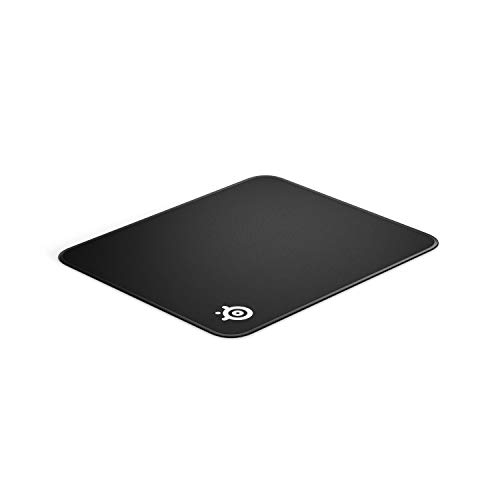 SteelSeries QcK Gaming Surface - Medium Stitched Edge Cloth - Extra Durable - Optimized...