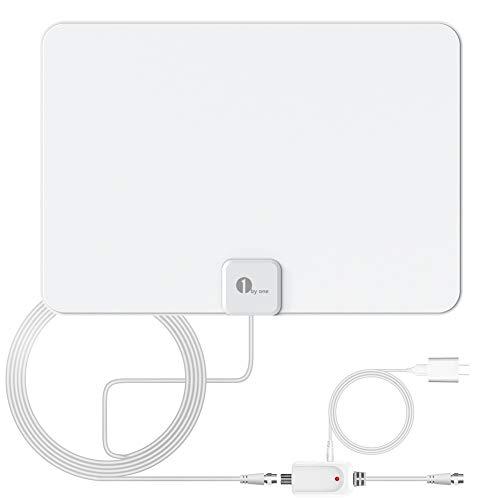 Indoor TV Antenna, Amplified Digital HDTV Antenna - HD Antenna with Amplifier Signal...