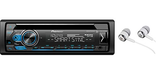 Pioneer DEH-S4120BT in Dash CD AM/FM Receiver with MIXTRAX, Bluetooth Dual Phone...