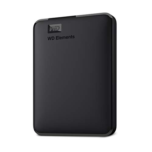 WD 2TB Elements Portable External Hard Drive HDD, USB 3.0, Compatible with PC, Mac, PS4 &...