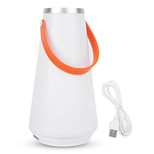 QiaNgshuAikj Portable Wireless Table Lantern Light,USB Rechargeable Touch Night Lamp,Lamp...