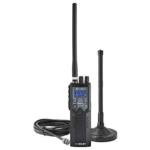 Cobra HHRT50 Road Trip Cb Radio - Emergency Radio, Travel Essentials, 2-Way Handheld Black...