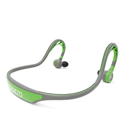 MUCRO Wireless Bluetooth Earbuds Behind Neck, Running Ear Phones with...
