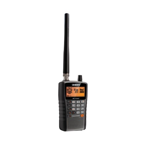 Uniden Bearcat BC125AT Handheld Scanner. 500 Alpha-Tagged channels. Public Safety, Police,...