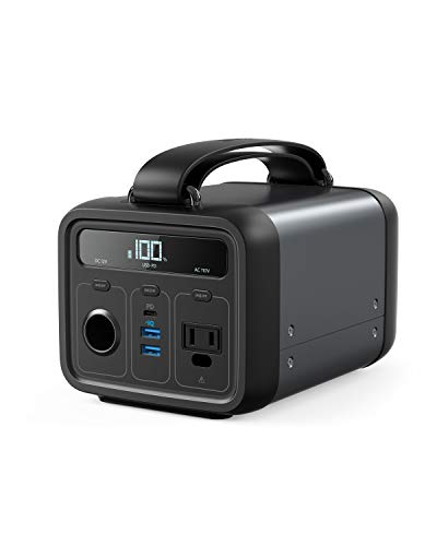 Anker Powerhouse 200, 200Wh/57600mAh Portable Rechargeable Generator Clean & Silent 110V...
