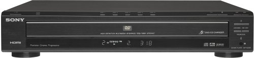 Sony DVP-NC85H/B HDMI/CD Progressive Scan 5-Disc DVD Changer, Black