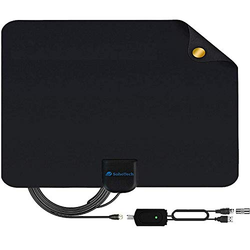 Antenna TV Digital HD indoor - 2020 Newest Digital Antenna for HDTV 120 Miles Range,...