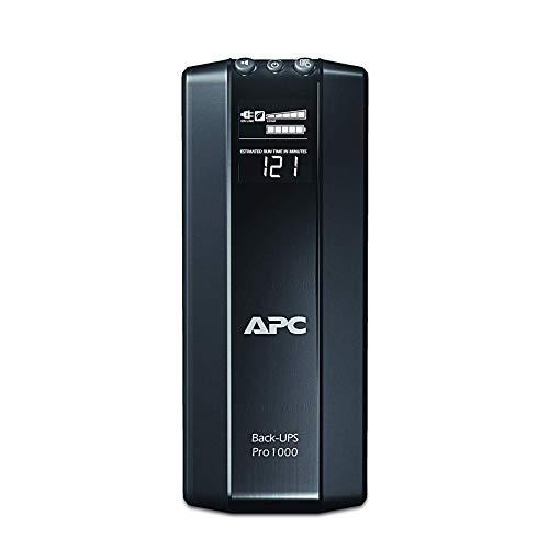 APC 1500VA UPS Battery Backup & Surge Protector with AVR, Back-UPS Pro Uninterruptible...