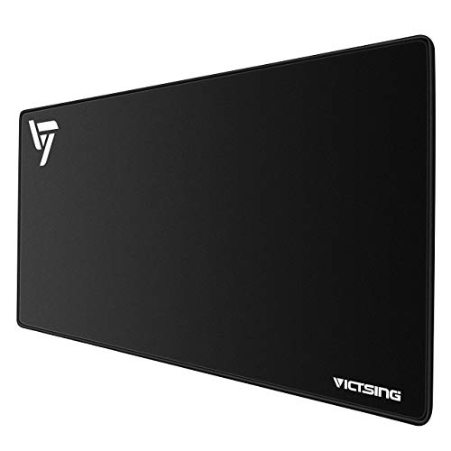 VicTsing [30% Larger Extended Gaming Mouse Pad with Stitched Edges, Long XXL Mousepad...