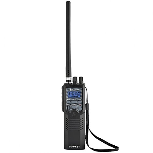 Cobra HH50WXST Hand Held CB Radio - Emergency Radio, Travel Essentials, Earphone Jack, 4...