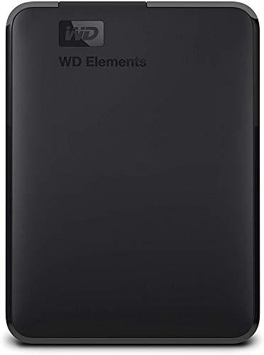 WD 2TB Elements Portable External Hard Drive, USB 3.0 - WDBU6Y0020BBK-WESN