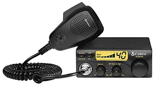 Cobra 19DXIV Professional CB Radio - Instant Channel 9 and 19, 4 Watt Output, Full 40...