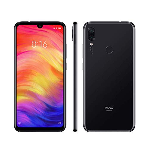 Xiaomi Redmi Note 7, 64GB/4GB RAM, 6.30'' FHD+, Snapdragon 660, Black - Unlocked Global...