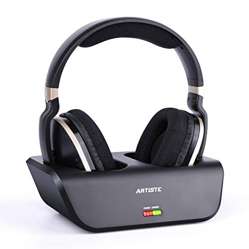 ARTISTE Wireless TV Headphones with Optical for Smart TV, Digital Stereo and 2.4GHz RF...