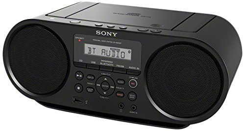 Sony Portable Bluetooth Digital Turner AM/FM CD Player Mega Bass Reflex Stereo Sound...