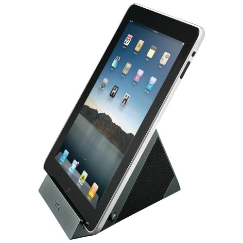 iHome iDM1 Sleek Stereo Speaker System for iPad, iPhone, iPod or other Audio Devices...