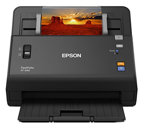 Epson FastFoto FF-640 High-Speed Photo Scanning System with Auto Photo...