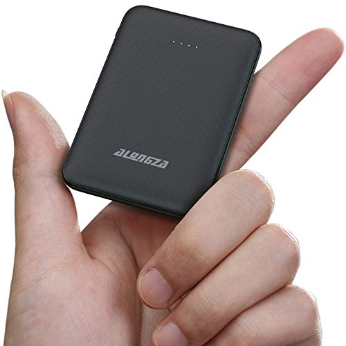 Alongza Portable Phone Charger,5000mAh External Battery Power Pack 0.22lb Pocket Size...