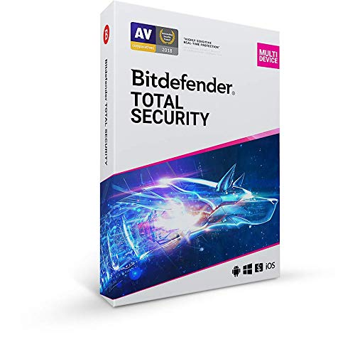 Bitdefender Total Security - 5 Devices | 2 year Subscription | PC/Mac |...