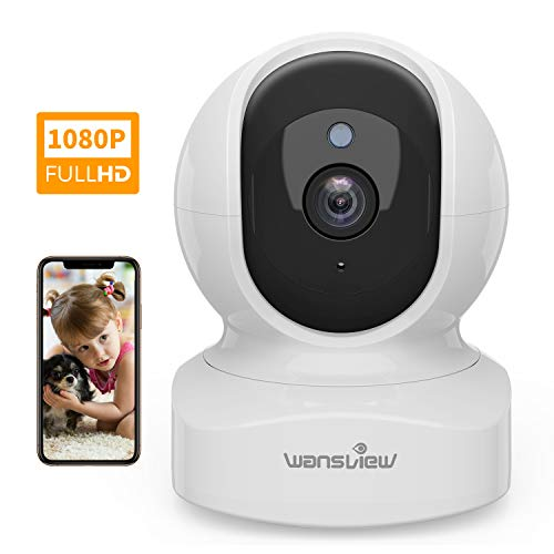 Home Security Camera, Baby Camera,1080P HD Wansview Wireless WiFi Camera...