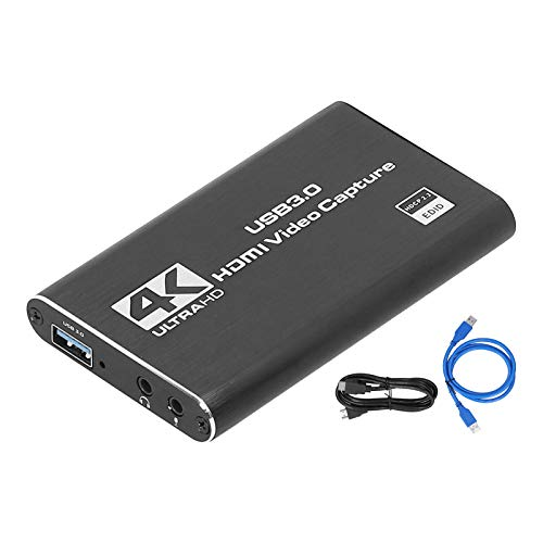 YJZO for Capture Card-USB3.0 HDMI 4K 60Hz Free Drive for Capture Card High Definition...