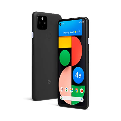 Google Pixel 4a with 5G - Android Phone - New Unlocked Smartphone with Night Sight and...