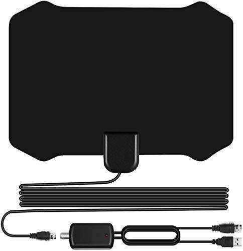 Sodysnay W222 Skywire TV Antenna for Digital TV Indoor, Amplified HD Digital TV Antenna...