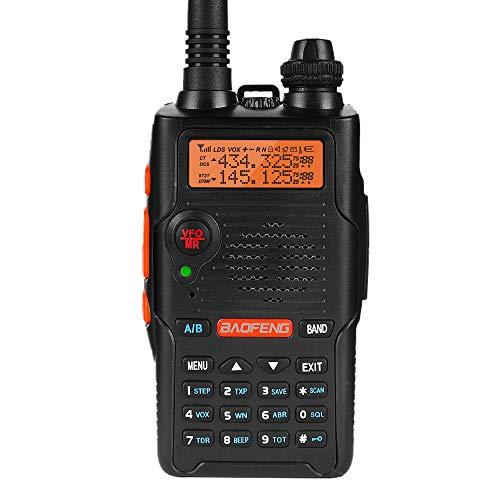 BaoFeng UV-5R EX 5W Dual Band Two Way Radio Long Range (Upgraded Version of Uv-5R)...