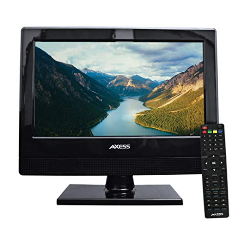 AXESS TV1705-13 13-Inch LED 1080P HDTV, Features 1xHDMI/Headphone Inputs, Digital Tuner...