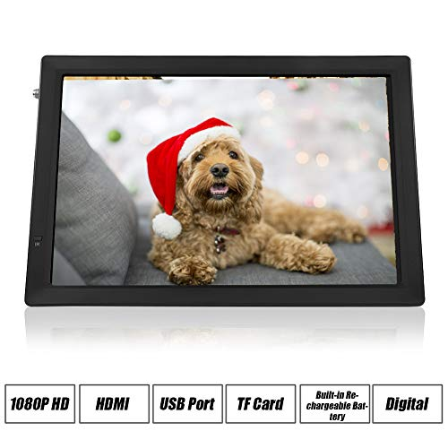 14' Digital Television, ATSC Portable TV 1080P HD HDMI Video Player Built-in Rechargeable...
