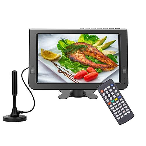 GJY 10.1 inch Portable TV Digital Multimedia ATSC+NTSC for Digital TV -USB Slot-Card...