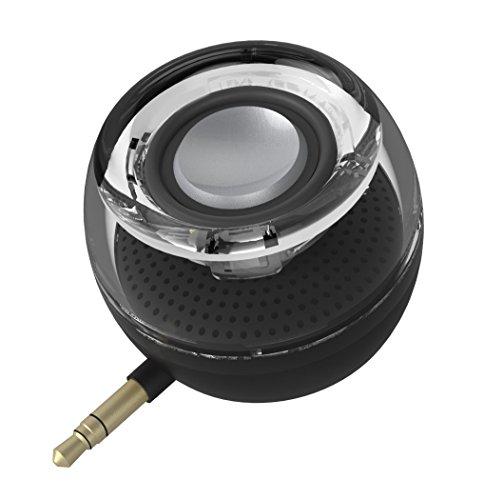 Mini Portable Speaker, 3W Mobile Phone Speaker with 250mAh Lithium Battery Line-in Speaker...