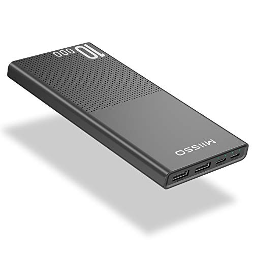 10000mAh Cell Phone External Battery Pack, Portable Phone Charger Power Bank 5V 3.1A Fast...