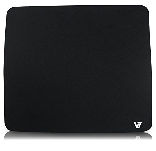 V7 Black Mouse Pad - MP01BLK-2NP