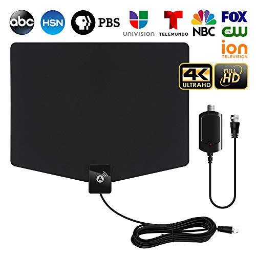 HDTV Antenna,[2020 Latest] Indoor Digital TV Antenna 120+ Miles Long Range with Support 4K...