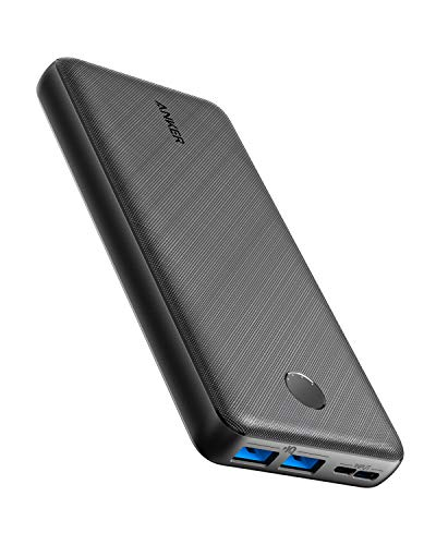 Anker Portable Charger, PowerCore Essential 20000mAh Power Bank with PowerIQ Technology...