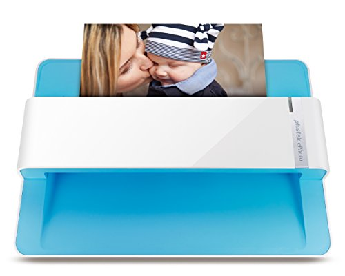 Plustek Photo Scanner - ephoto Z300, Scan 4x6 Photo in 2sec, Auto Crop and Deskew with CCD...