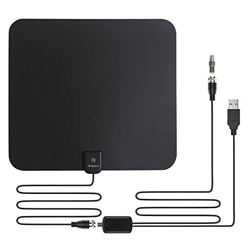 [2020 Lastest] HDTV Antenna,Areson Digital Amplified Indoor Skywire HDTV Antenna,HD 85-110...