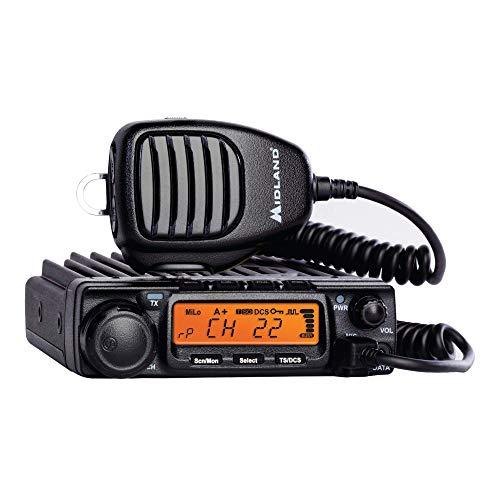 Midland - MXT400, 40 Watt GMRS MicroMobile Two-Way Radio - Up to 65 Mile Range Walkie...