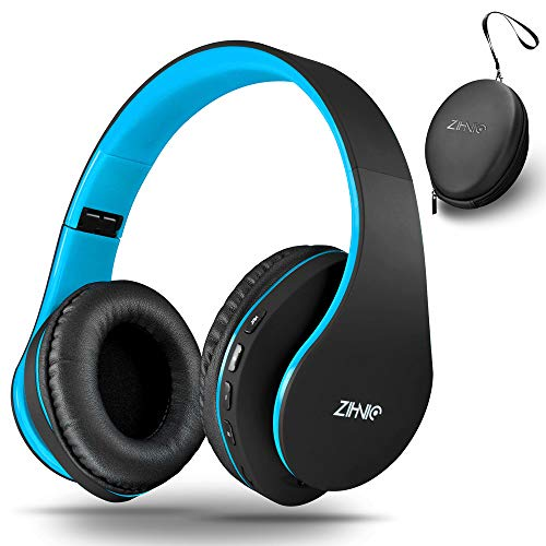 Wireless Over-Ear Headset with Deep Bass, Bluetooth and Wired Stereo Headphones Buit in...