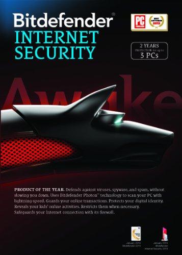 Bitdefender Internet Security 2014 Value M2 (3-PCs/2-Yrs)