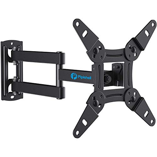 Full Motion TV Monitor Wall Mount Bracket Articulating Arms Swivels Tilts Extension...