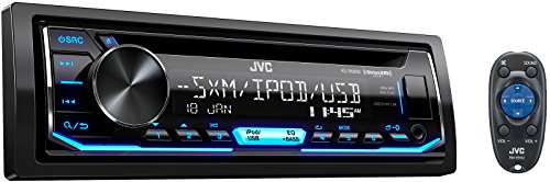 JVC KD-R690S CD Receiver Featuring Front USB/AUX Input/Pandora/SiriusXM Ready/Variable...