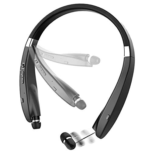 Foldable Bluetooth Headset, Beartwo Lightweight Retractable Bluetooth Headphones for...