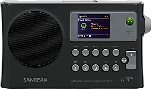 Sangean WFR-28 Internet Radio / FM-RBDS / USB / Network Music Player Digital Receiver with...