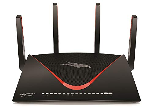NETGEAR Nighthawk Pro Gaming XR700 WiFi Router with 6 Ethernet Ports and Wireless Speeds...