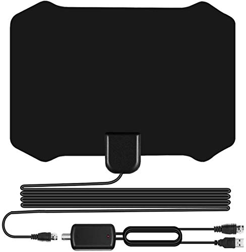 W222 Skywire TV Antenna for Digital TV Indoor, Amplified HD Digital TV Antenna with 120...