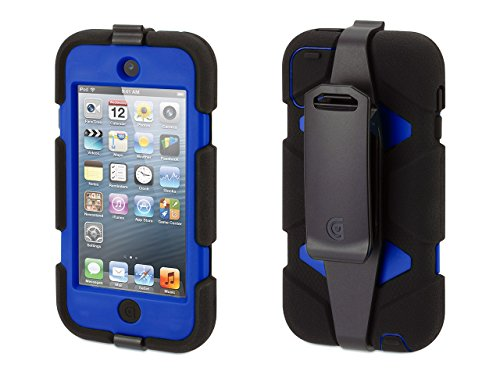 Griffin Survivor Case with Belt Clip for iPod Touch (5th/ 6th gen.) - Shock-Absorbing and...
